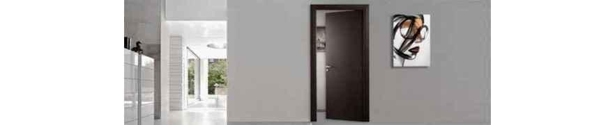 Classic and modern internal swing doors