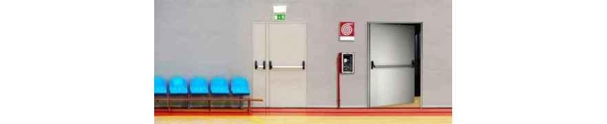 REI 120 fire rated metal doors | FIP Hotel