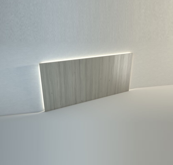 headboard with LED backlight