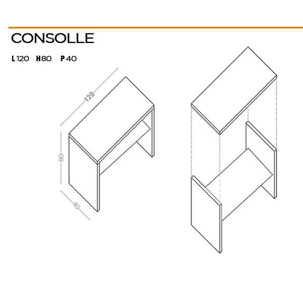 Entrance console design
