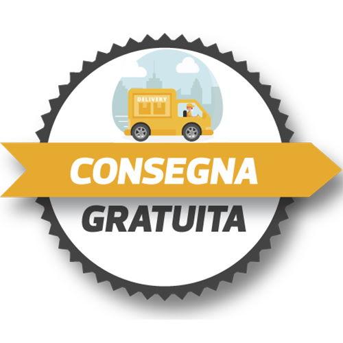 Spedizione gratuita in Italia