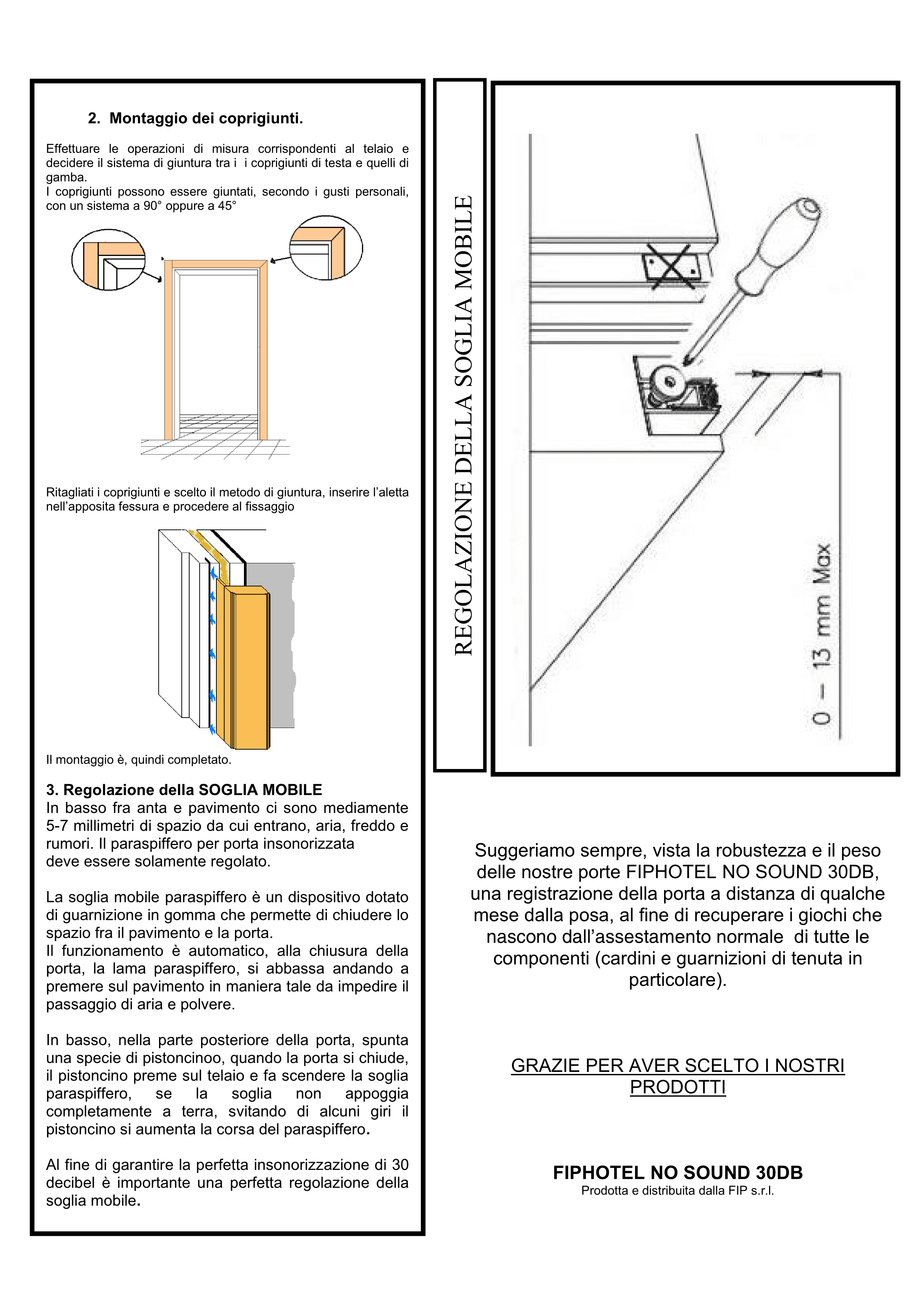 REI 45 door assembly instructions