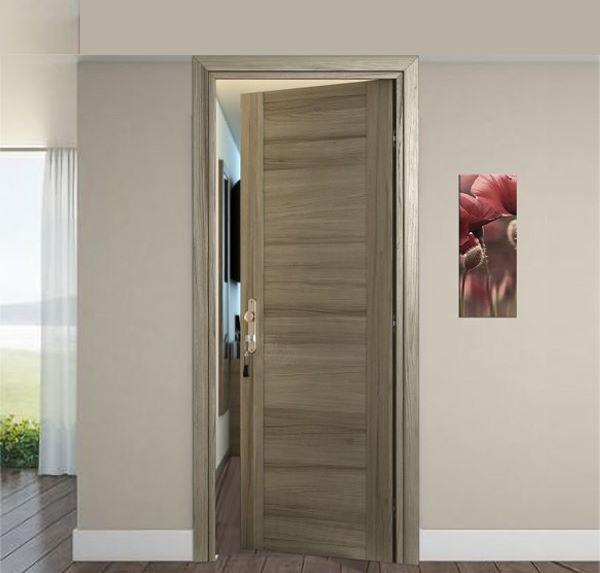 Door REI 45 Rosewood Tortora with central panel